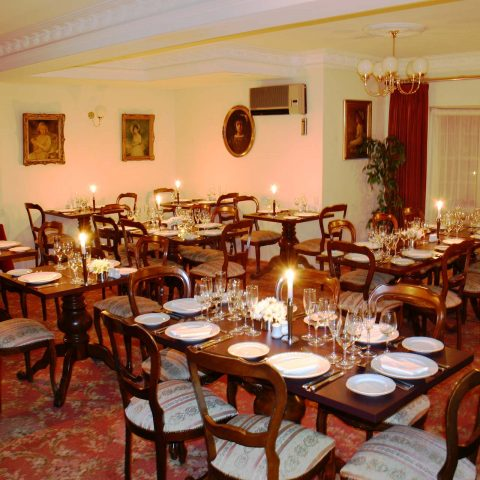 Dine in our boutique restaurant