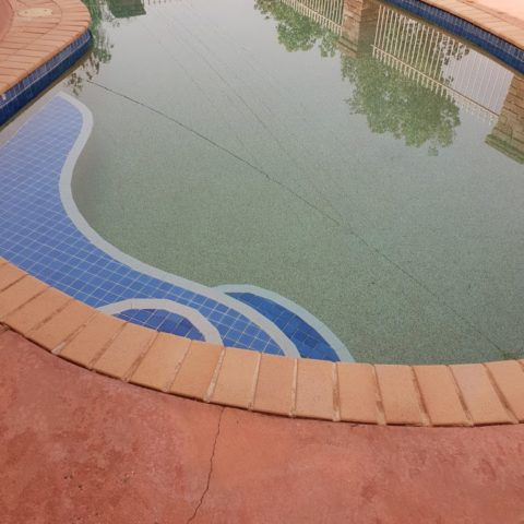 Take a dip in our pool